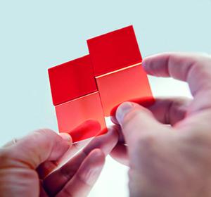 Kunststoffplättchen aus der ALBIS Produktpalette