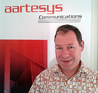 Patrick Gerber, head of Research and Development at Aartesys