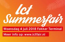 ICT Summerfair in Den Haag, 4 juli 2018
