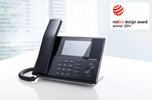 innovaphone IP232 - red dot design award 2012