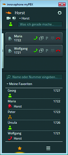 innovaphone UC-Client myPBX