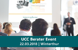 UCC Berater Event in Winterthur