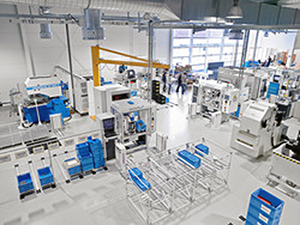 Manufacturing unit at Pankl Racing Systems