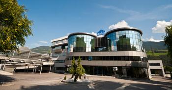 Das Firmengebäude von duka in Brixen