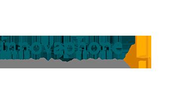 innovaphone logo met slogan en vis