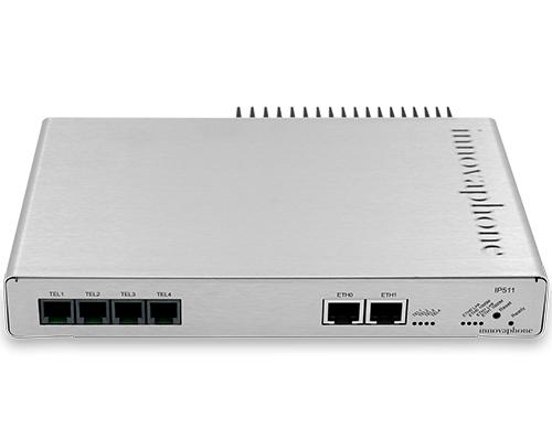innovaphone VoIP-Gateway IP511, silberne Edelstahl