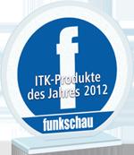 Funkschau Leserwahl: ITK-Produkte 2012