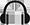Icon kabellose Kopfhörer Headset